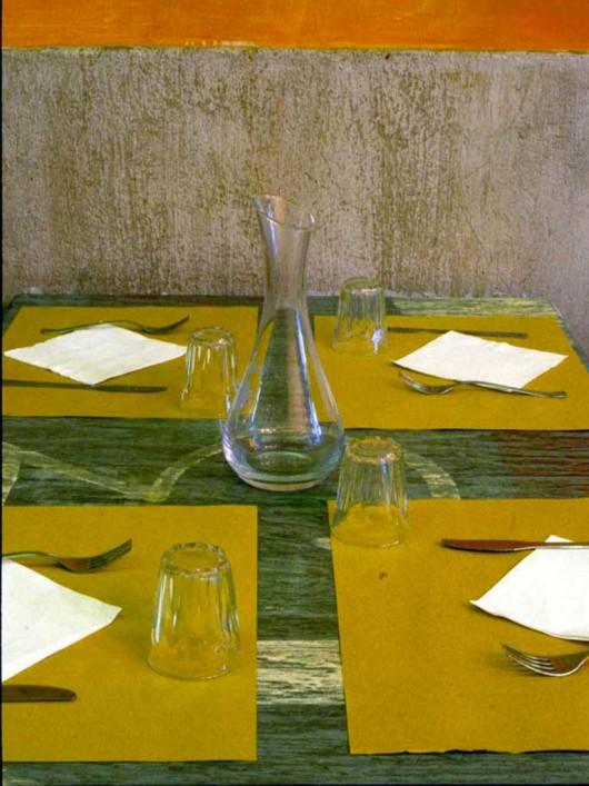 ristorazione, cuxinne, progetto, decorazione, colore, beton-cire